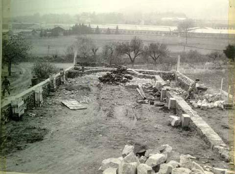 Sainte-Famille, construction