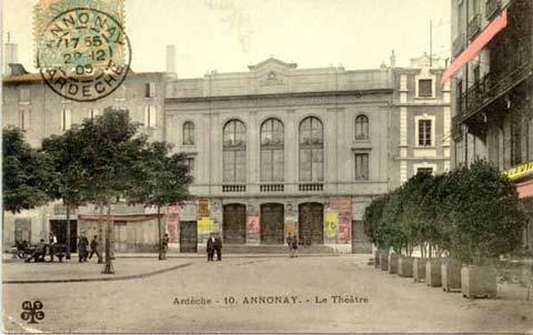 Théâtre, v. 1905 (2)