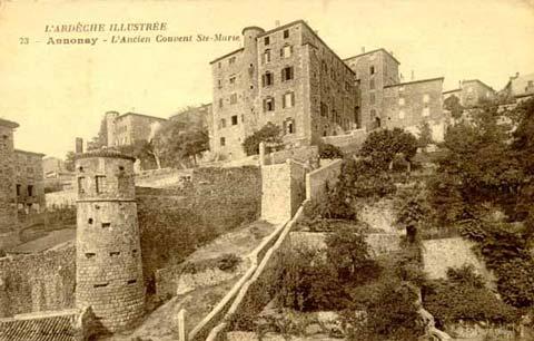 Tour des Martyrs (1) : Tour des Martyrs et couvent Sainte-Marie