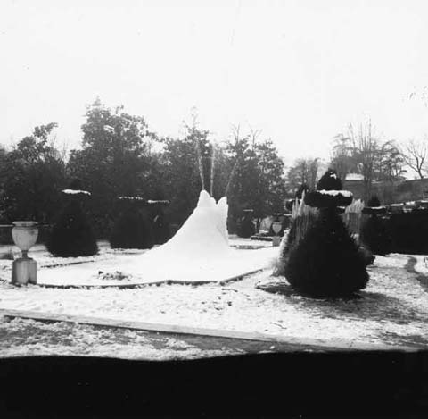 Parc Mignot (2) : Hiver 1970