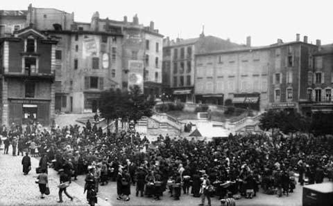 Place de la Liberté, le marché (2) : Avant 1940