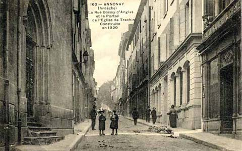 Rue Boissy d'Anglas (1) : Et la chapelle de Trachin