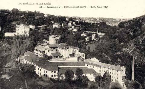 Usines Saint-Marc : Feutres